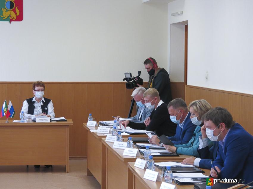 Депутаты провели 43-е очередное заседание Думы