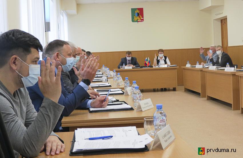 Состоялось очередное заседание Первоуральской городской Думы