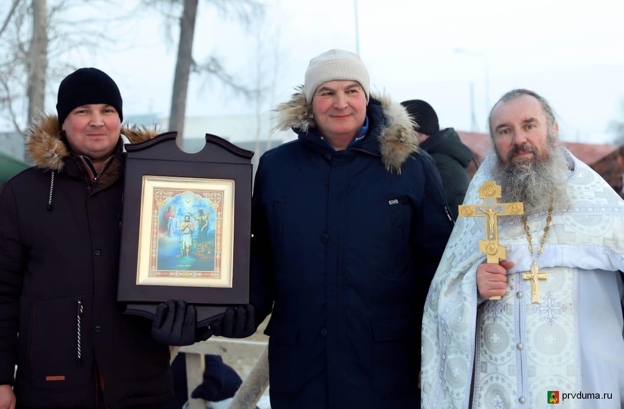 Депутаты приняли участие в организации и проведении праздника Крещения