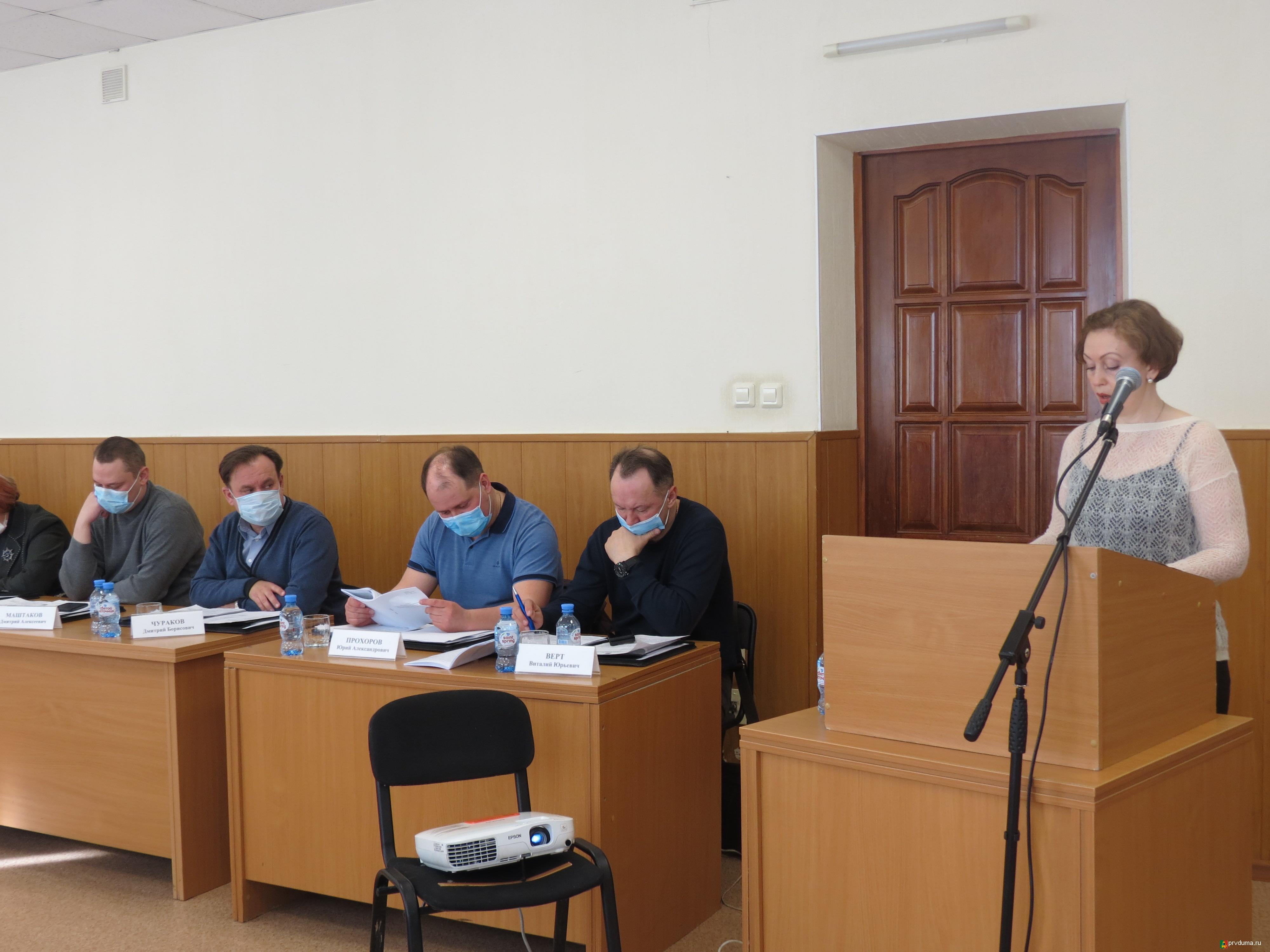 Депутаты заслушали отчет председателя Счетной палаты