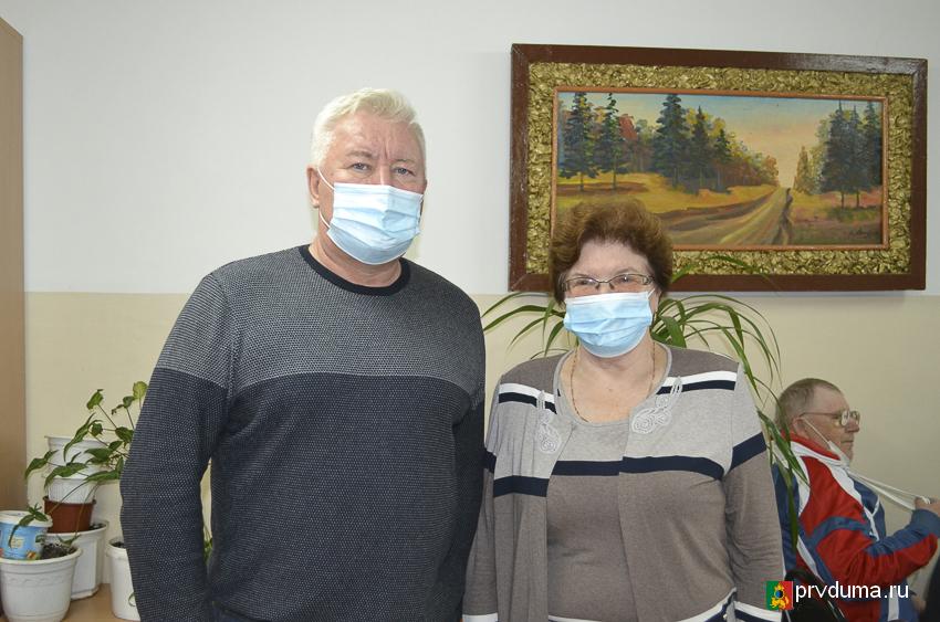 Эдуард Вольхин посетил Первоуральское общество слепых