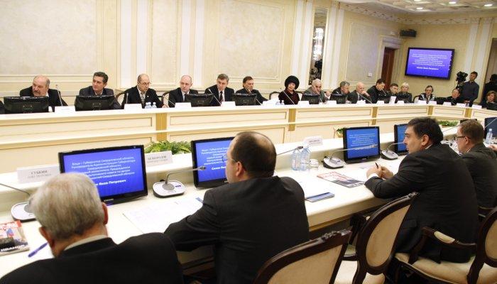 Подведение итогов в Совете представительных органов муниципальных образований Свердловской области