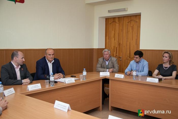 Встреча с Николаем Стариковым