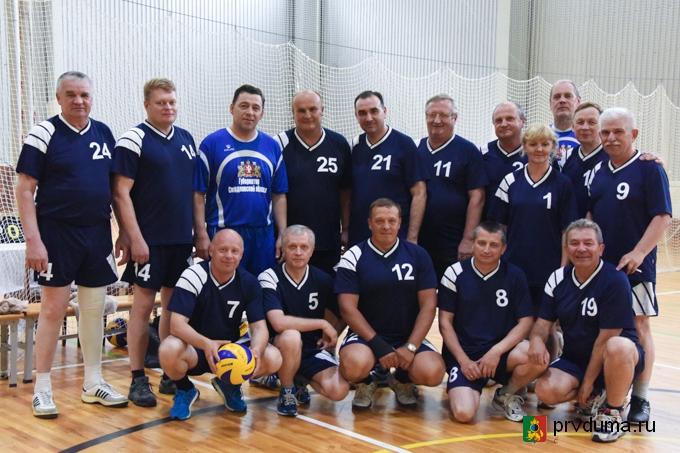 Волейбольный турнир округов