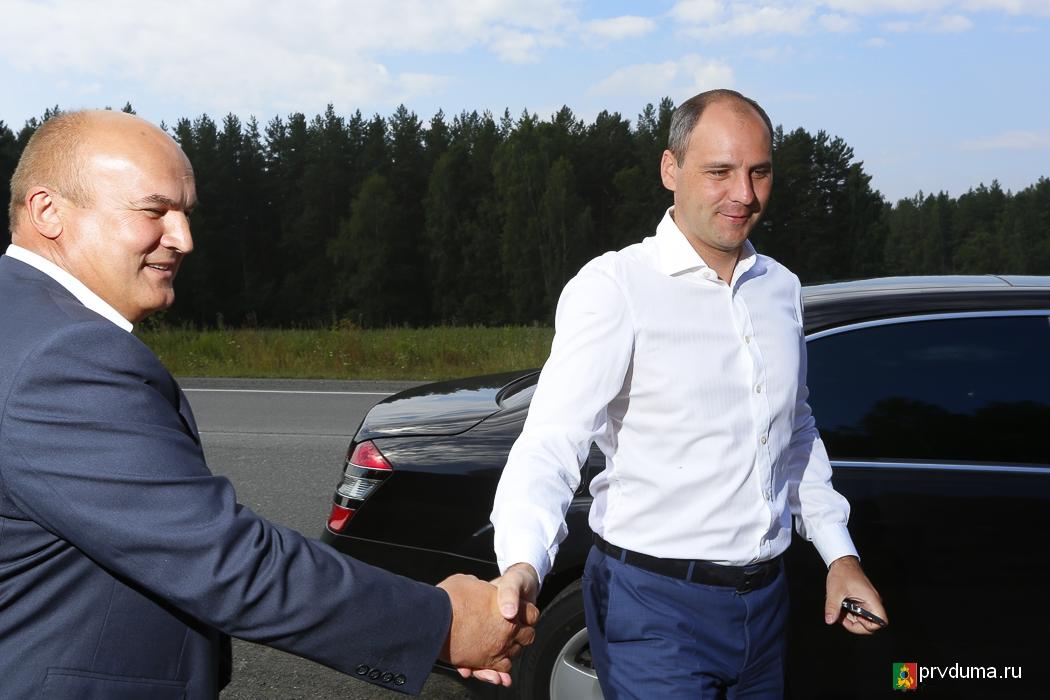 Первоуральск посетил Председатель Правительства Свердловской области