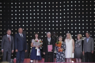 Новотрубники завершили празднование дня металлурга в Первоуральске съемками фильма