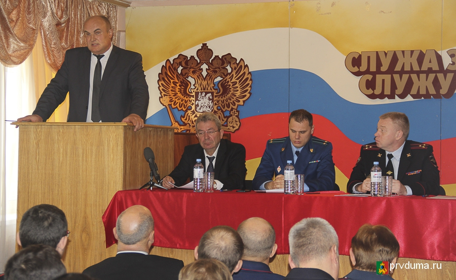 Глава Первоуральска принял участие в традиционном оперативном совещании правоохранителей