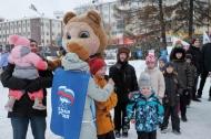 «Веселые старты» от   «Единой России» и «Молодой гвардии»