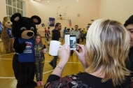 Депутаты и молодогвардейцы организовали  «Веселые старты» для воспитанников школы-интерната