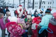 В поселках Первоуральска  открылись  ледовые городки