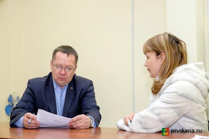 Приём депутатов «Единой России»: каждому заявителю - больше внимания
