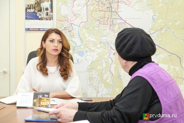 Наталья Воробьева: «Депутаты «Единой России» стараются помочь каждому»