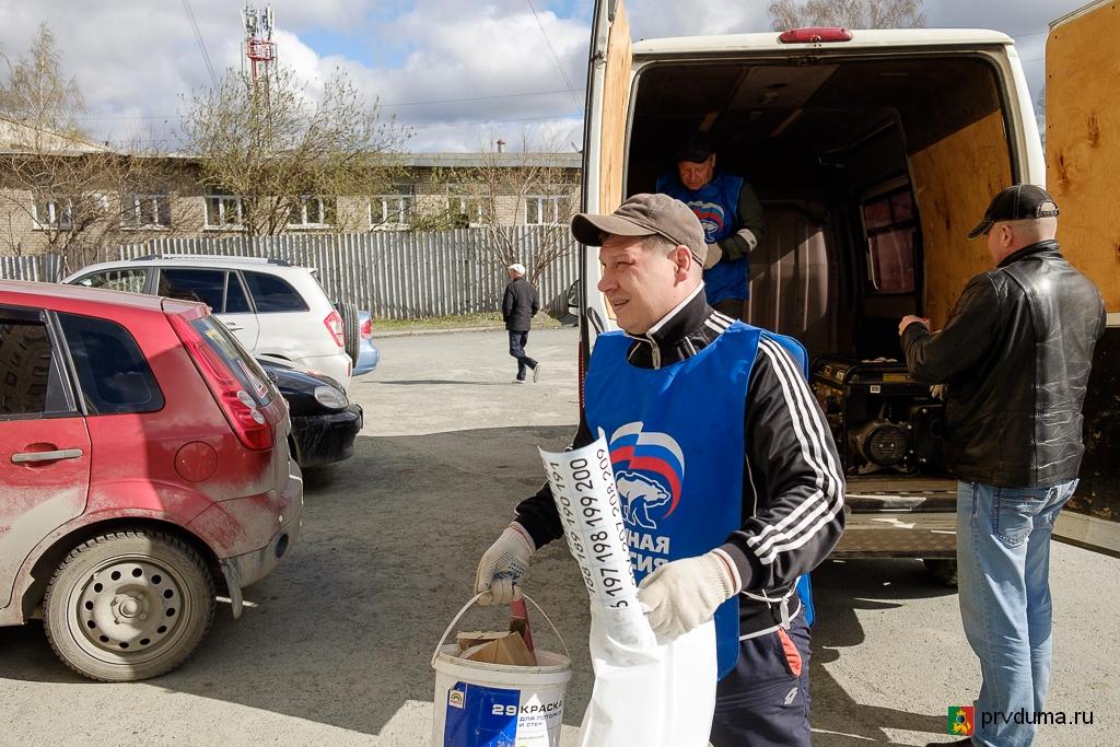 Депутаты «Единой России» продолжают устанавливать новые почтовые ящики