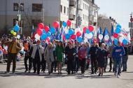 «Первомай» в Первоуральске – празднично, масштабно, зрелищно