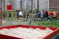 Эдуард Вольхин установил площадку на улице Береговой