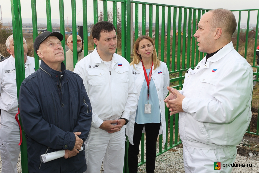 Александр Цедилкин принял участие в открытии нового поста мониторинга