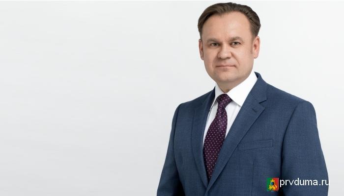 Дмитрий Чураков стал участником урока патриотизма