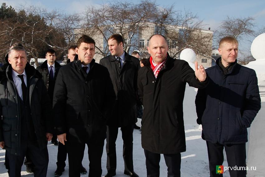 В Первоуральске прошло заседание Правительства Свердловской области