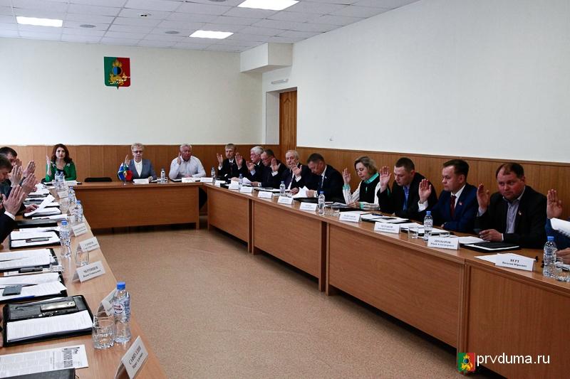 Депутатам доложили о ходе отопительного сезона
